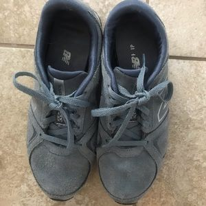 New Balance, suede sneakers
